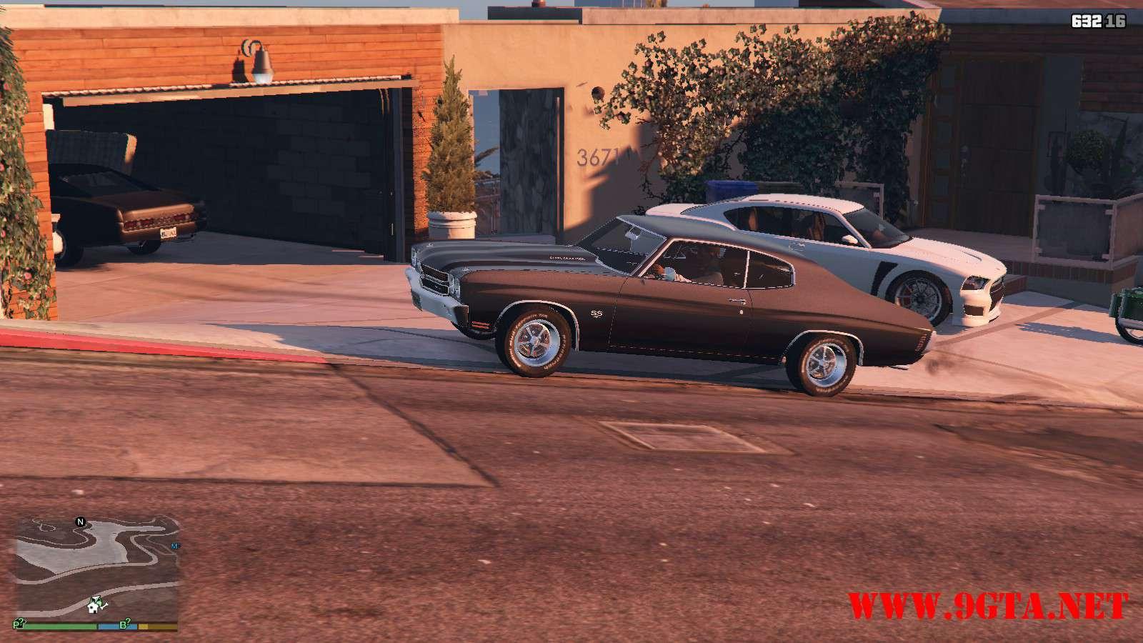 Chevrolet Chevelle SS v1.1 GTA5 Mods (18)