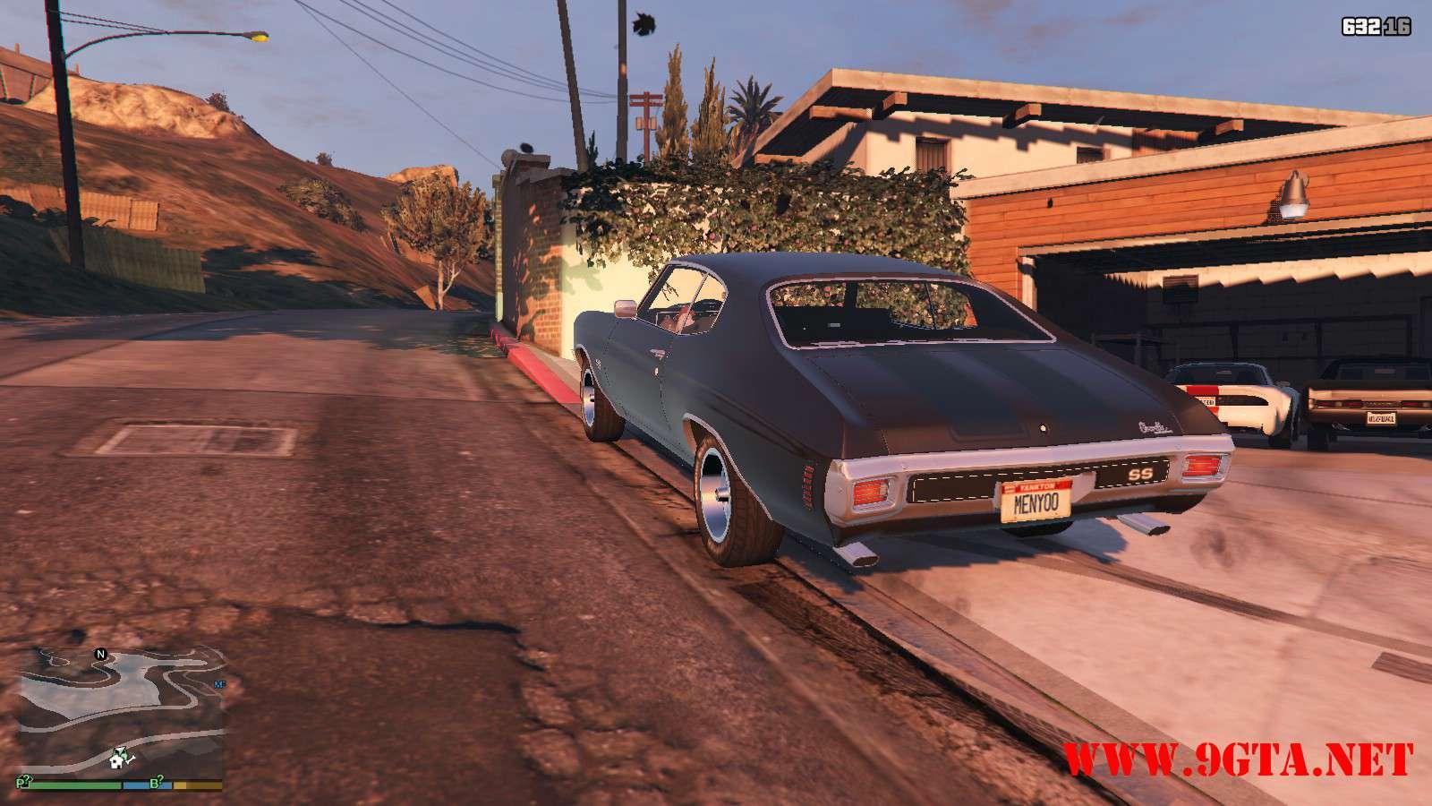 Chevrolet Chevelle SS v1.1 GTA5 Mods (19)