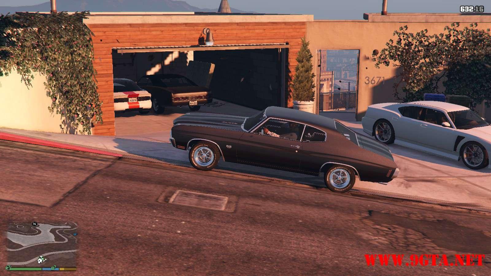 Chevrolet Chevelle SS v1.1 GTA5 Mods (20)
