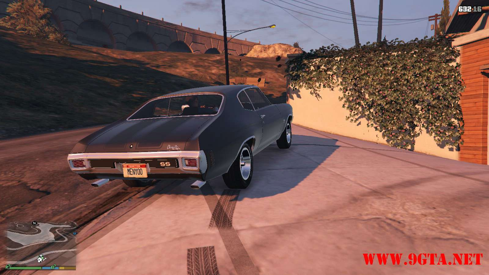 Chevrolet Chevelle SS v1.1 GTA5 Mods (21)