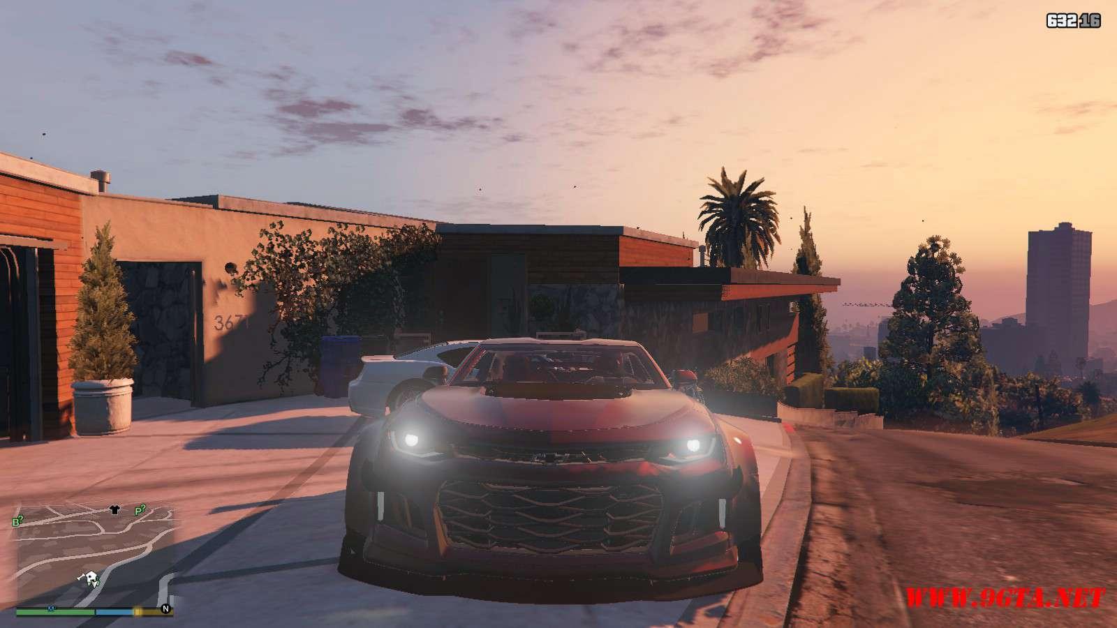 Chevy Camaro ZL1 Forza Edition GTA5 Mods (10)