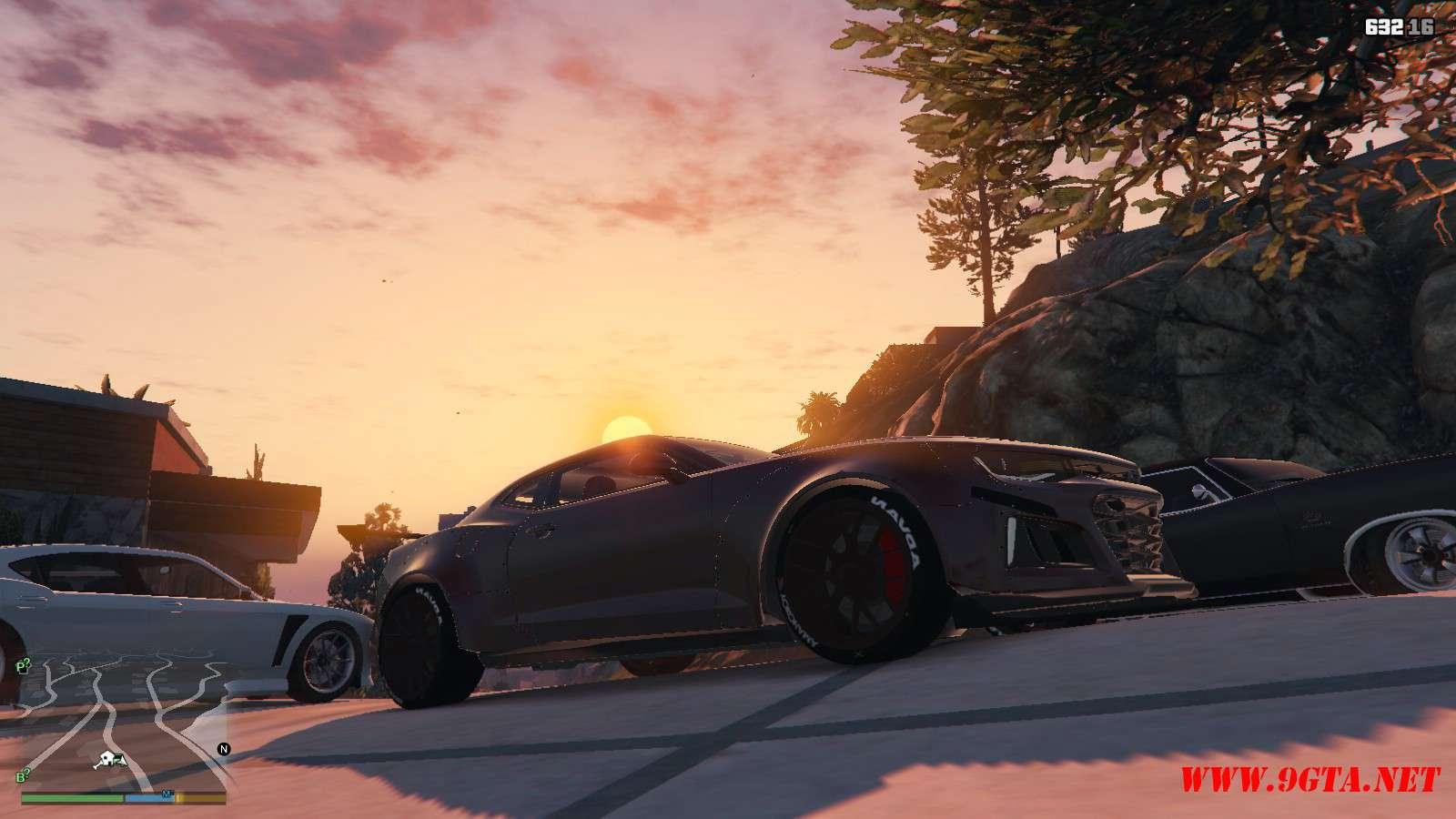 Chevy Camaro ZL1 Forza Edition GTA5 Mods (6)