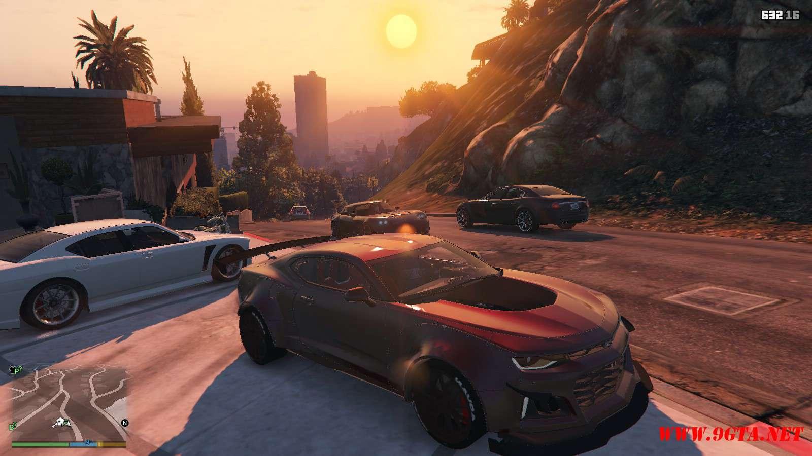 Chevy Camaro ZL1 Forza Edition GTA5 Mods (8)