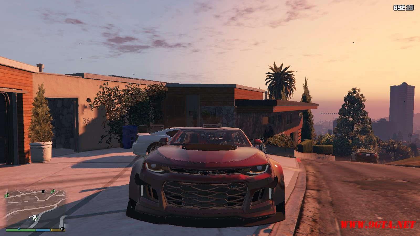 Chevy Camaro ZL1 Forza Edition GTA5 Mods (9)