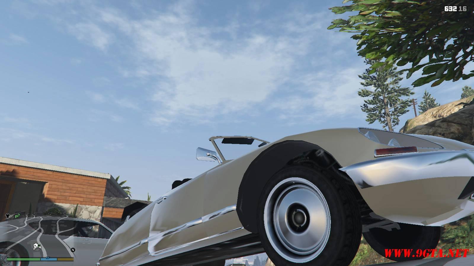 Citroen DS21 Mod For GTA5 (9)