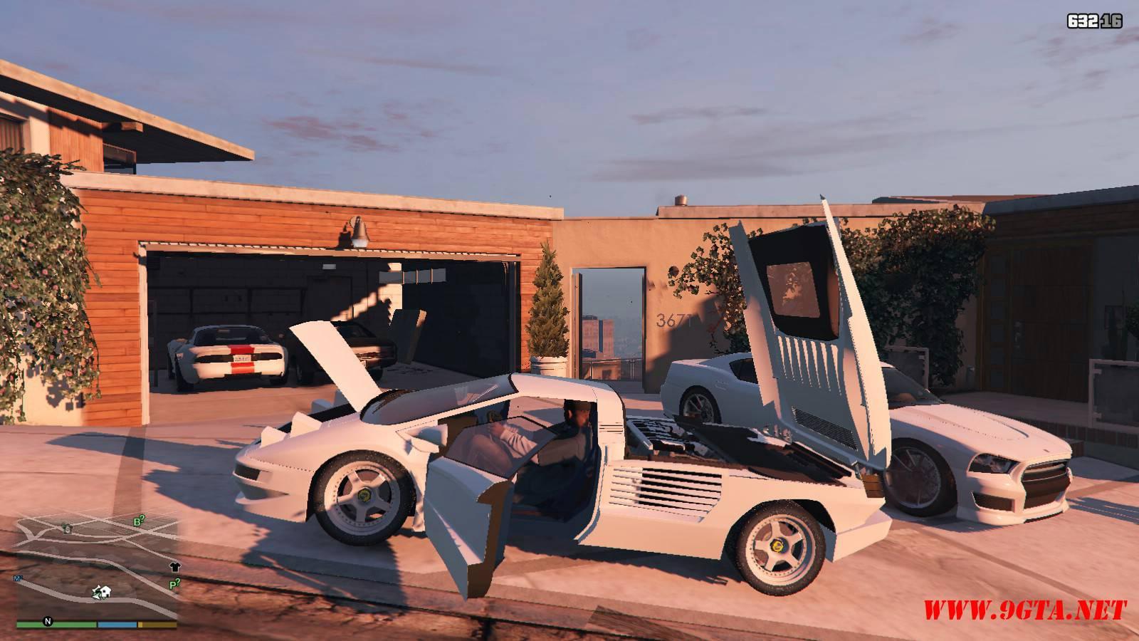 Cizeta Moroder V16T 1991 GTA5 Mods (13)