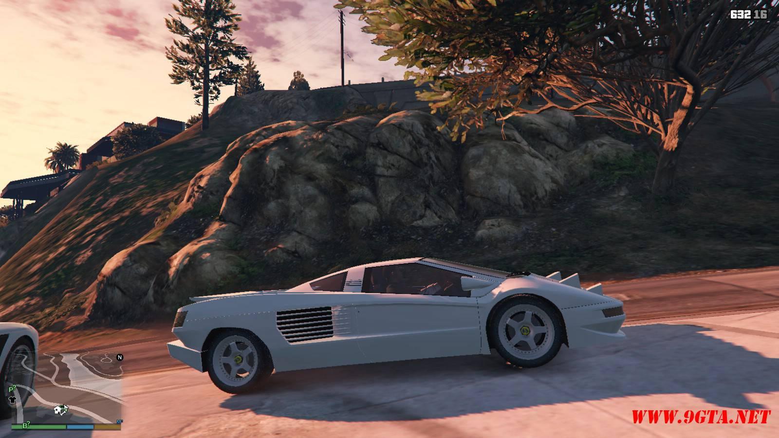 Cizeta Moroder V16T 1991 GTA5 Mods (4)