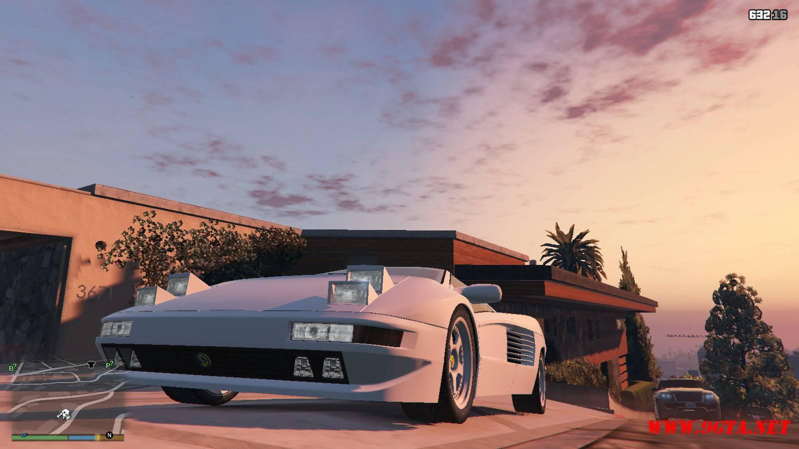 Cizeta Moroder V16T 1991 GTA5 Mods (9)