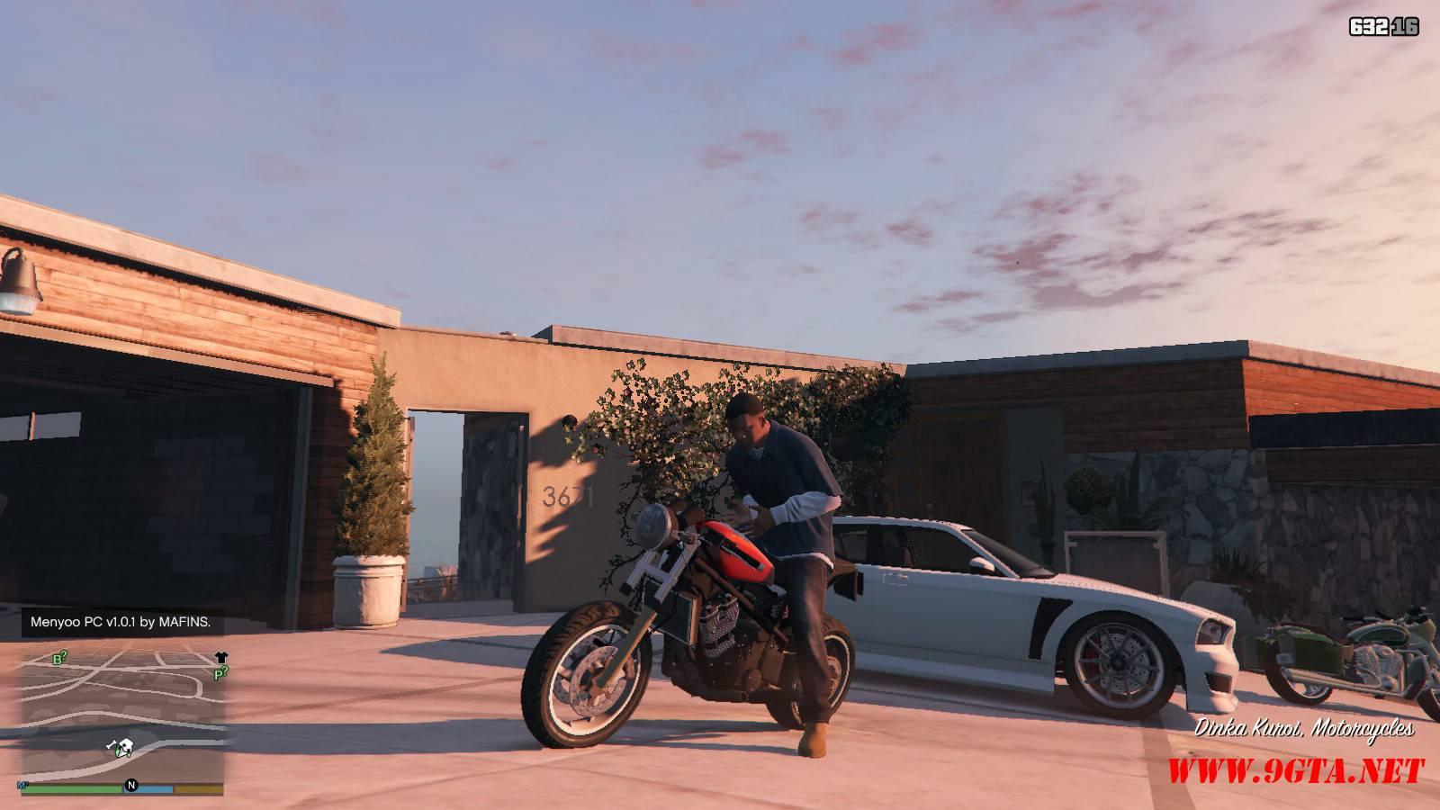 Dinka Kuroi Motorcycle GTA5 Mods (1)