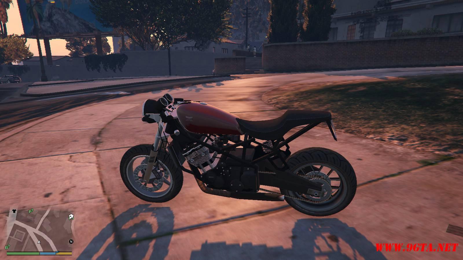 Dinka Kuroi Motorcycle GTA5 Mods (11)