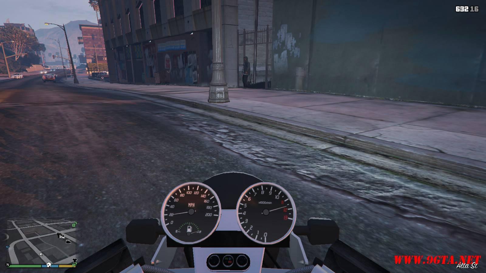 Dinka Kuroi Motorcycle GTA5 Mods (14)