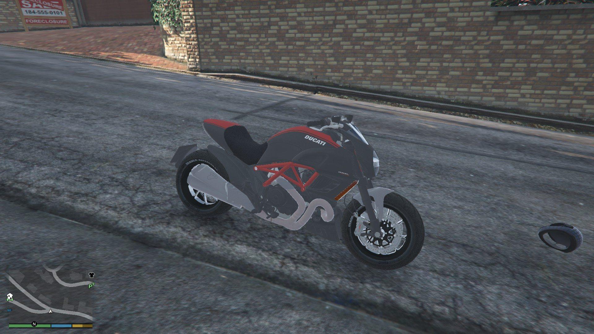 Ducatti Diavel 2014 GTA5 Mods (3)