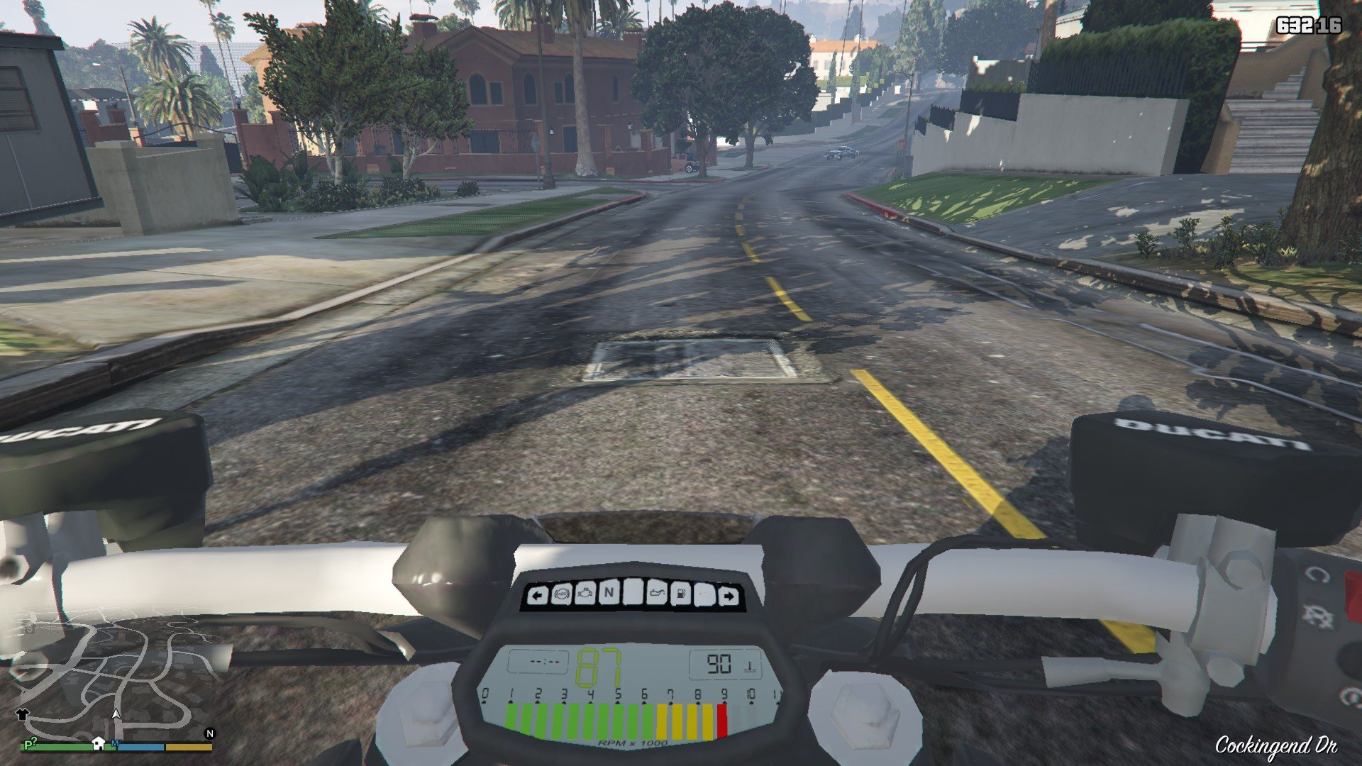 Ducatti Diavel 2014 GTA5 Mods (8)