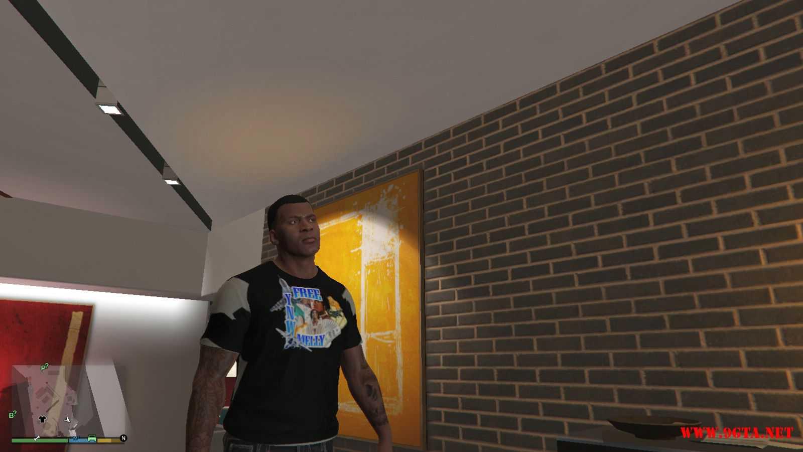 Free YNW Melly T-Shirt GTA5 Mods (2)