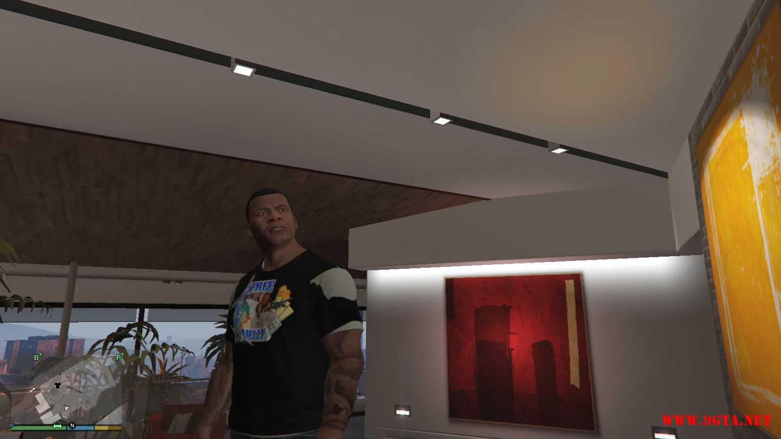 Free YNW Melly T-Shirt GTA5 Mods (3)