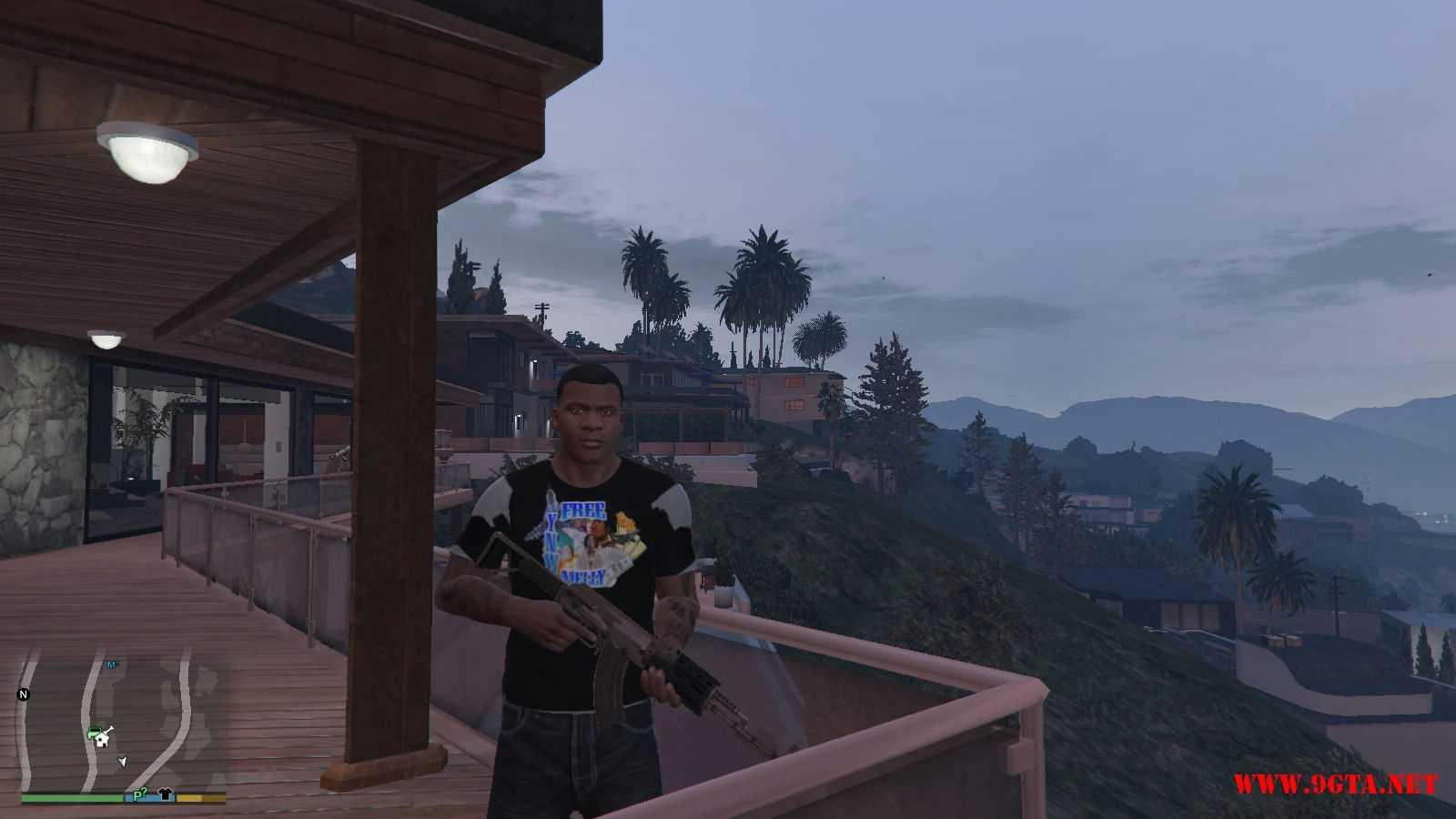 Free YNW Melly T-Shirt GTA5 Mods (5)
