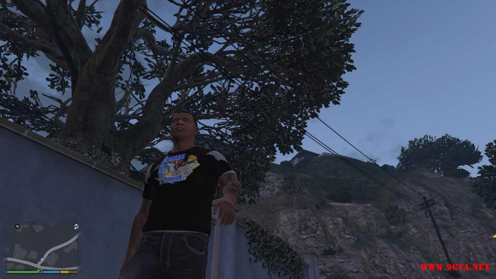 Free YNW Melly T-Shirt GTA5 Mods (7)