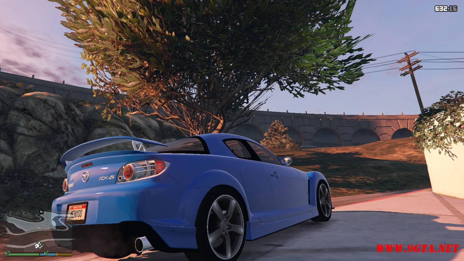 Mazda RX-8 Mazdaspeed FE3S GTA5 mods (10)