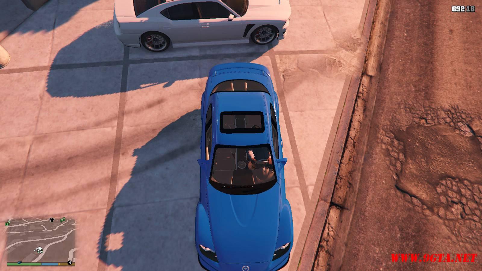Mazda RX-8 Mazdaspeed FE3S GTA5 mods (13)