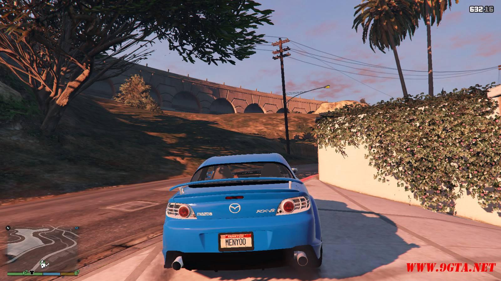 Mazda RX-8 Mazdaspeed FE3S GTA5 mods (3)