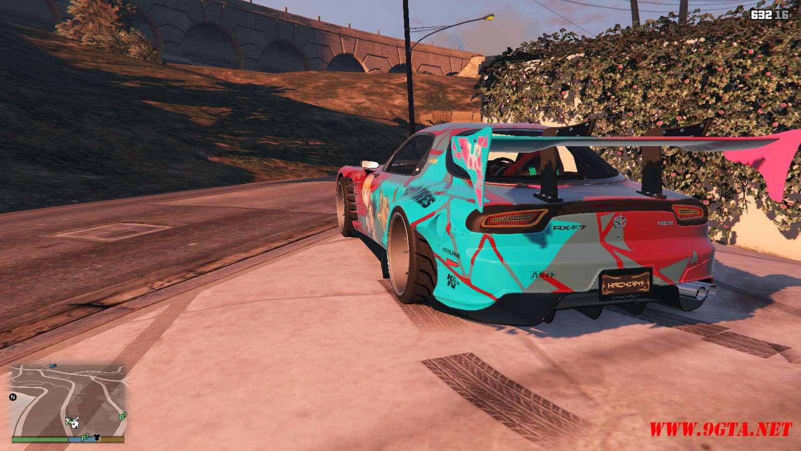 Mazda RX-F7 BLS-BN Sport GTA5 mods (15)