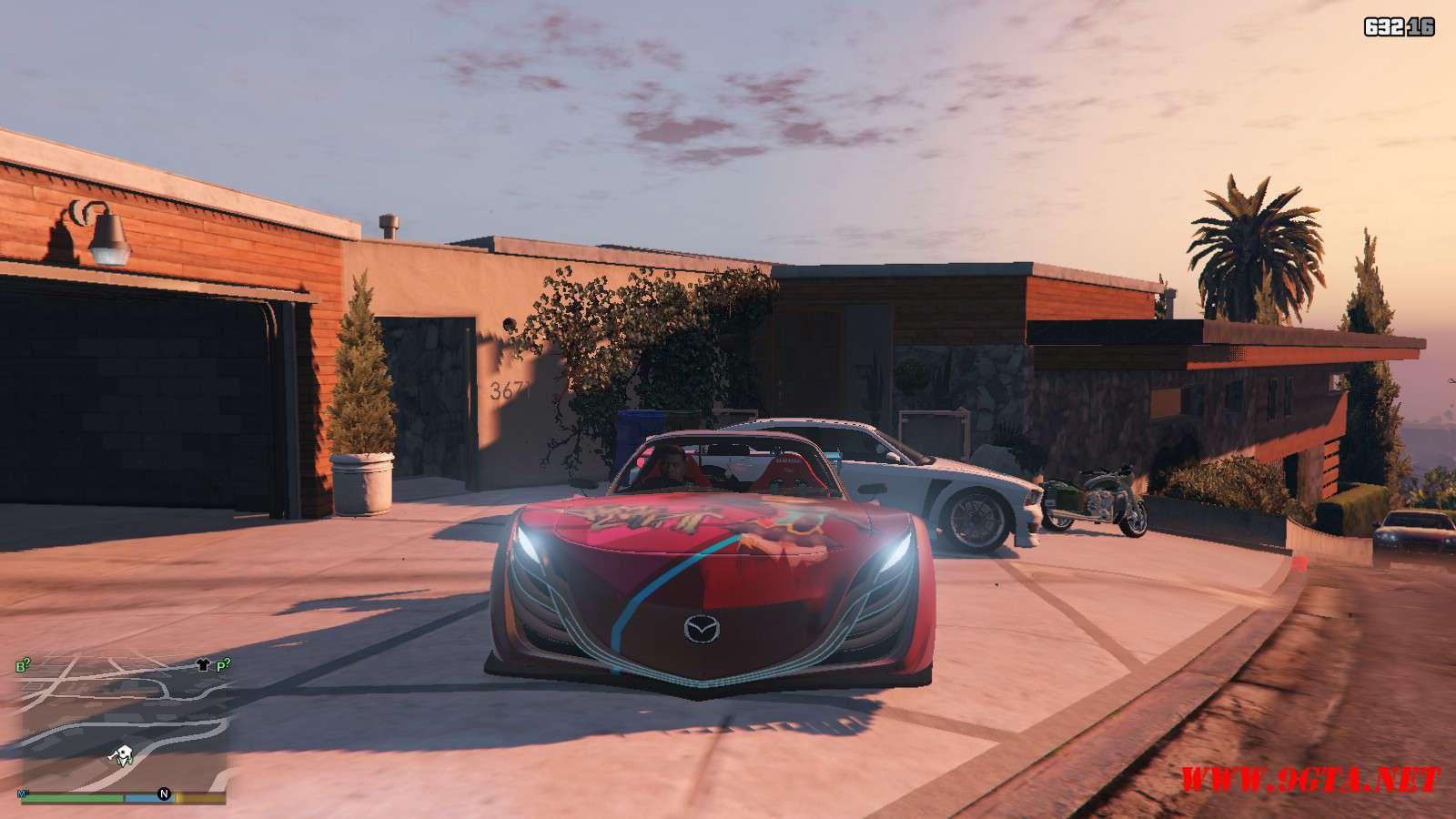 Mazda RX-F7 BLS-BN Sport GTA5 mods (8)