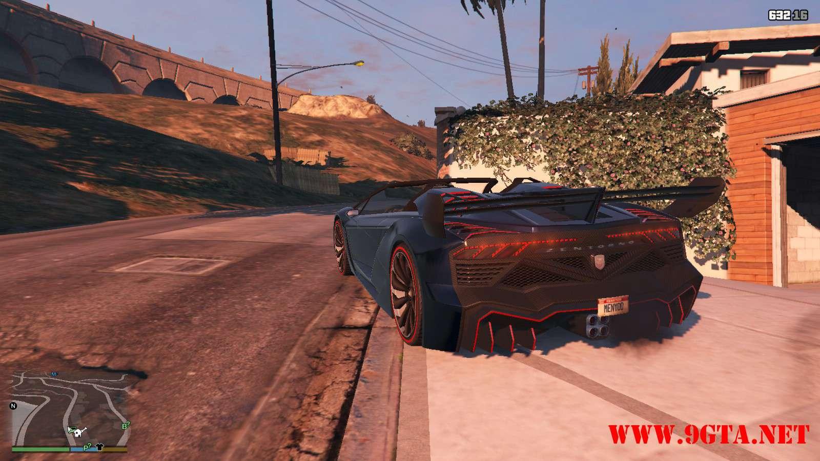 Pegassi Zentorno Roadster GTA5 Mods (12)