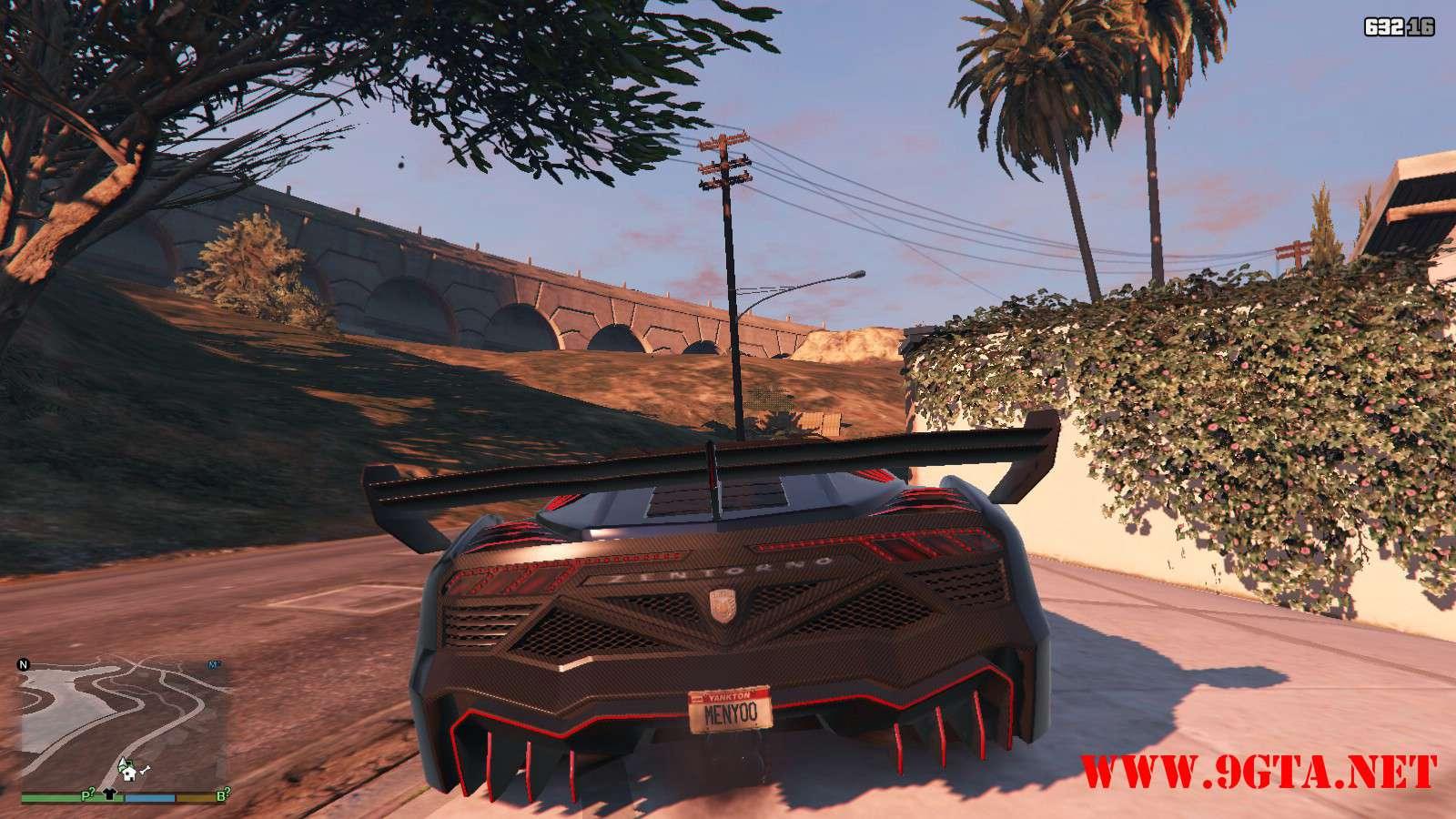 Pegassi Zentorno Roadster GTA5 Mods (3)