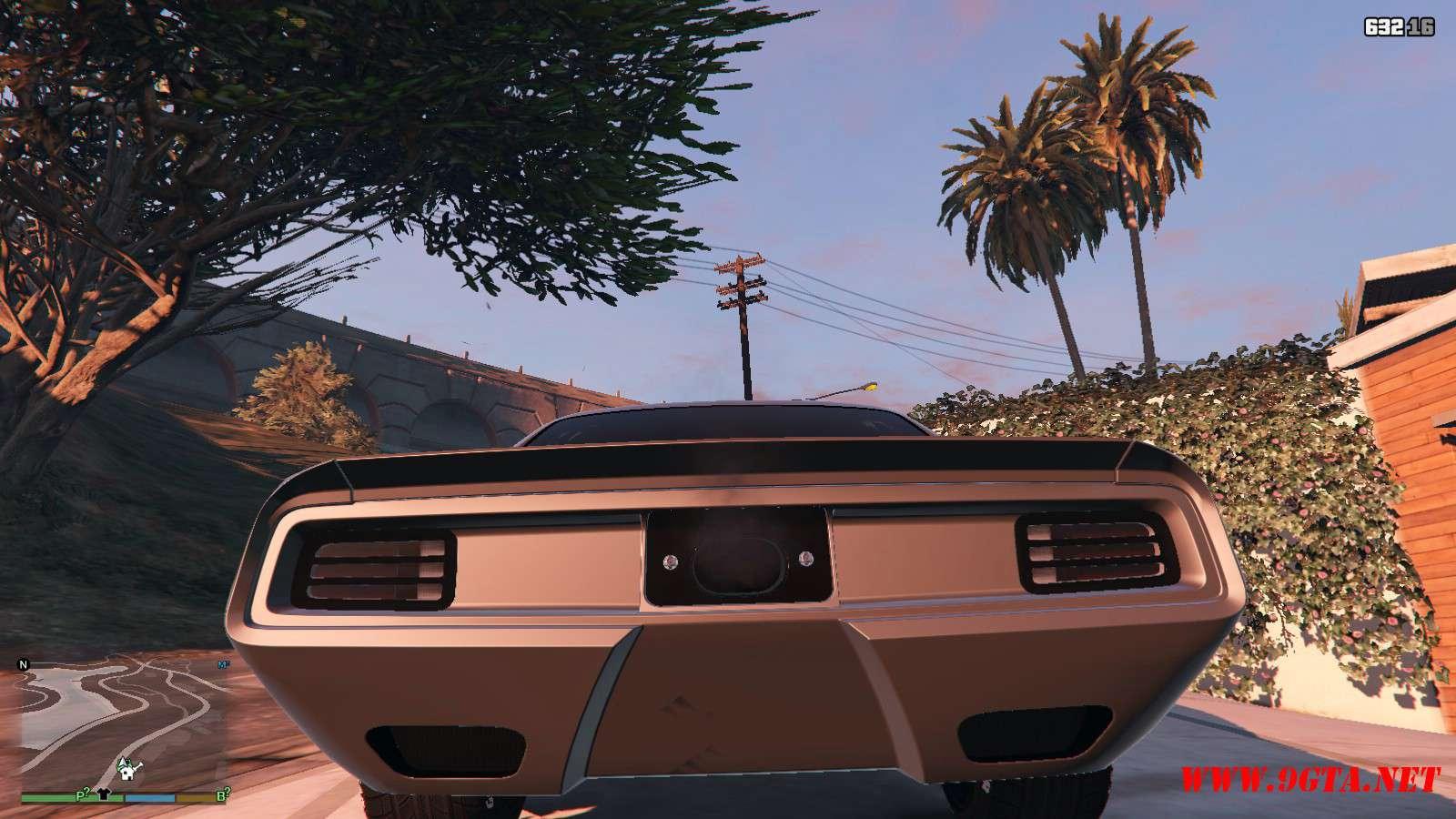 Plymouth Cuda Torc Weaver Customs '70 GTA5 Mods (3)