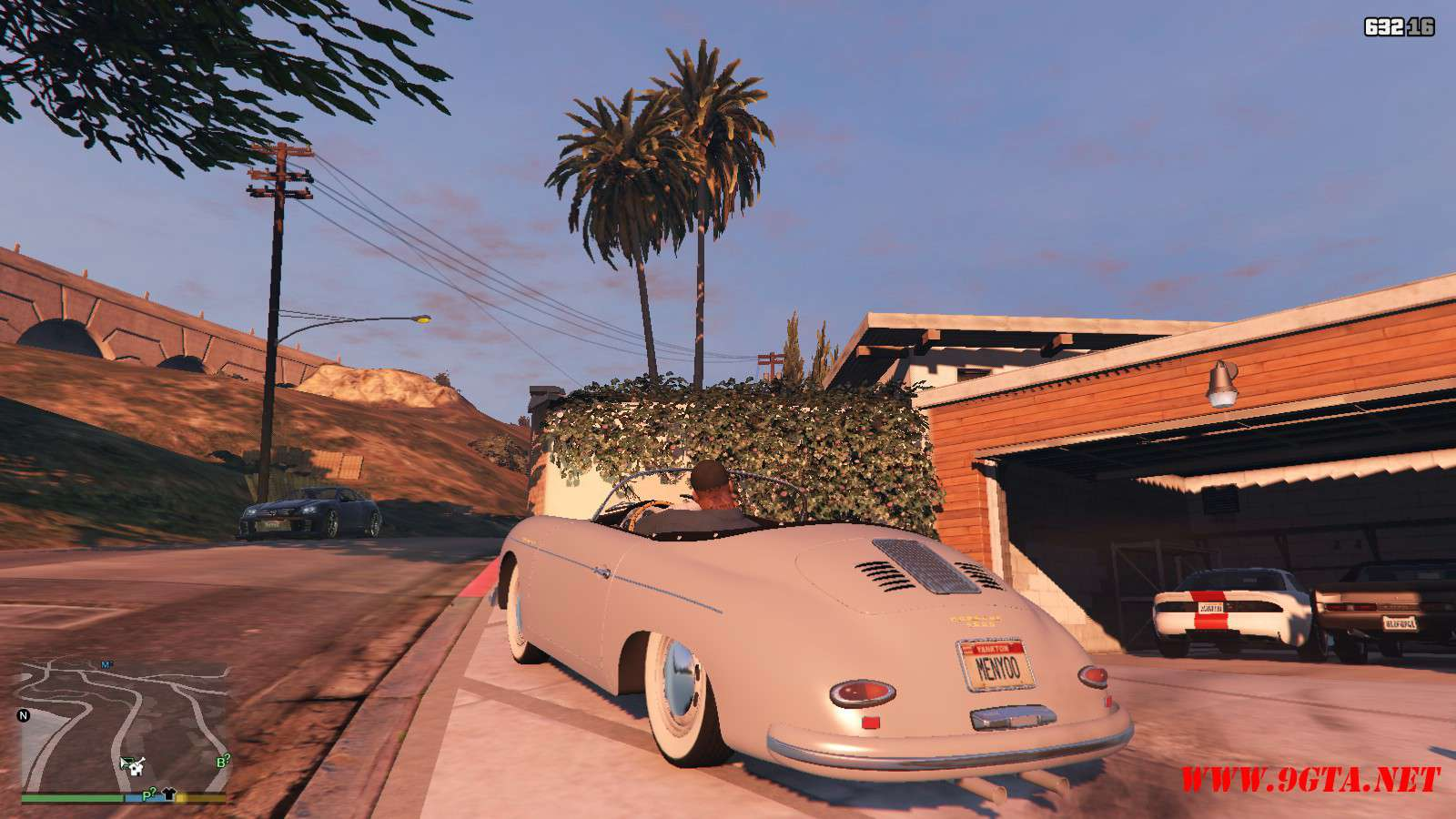 Porsche 356 Speedster GTA5 Mods (9)
