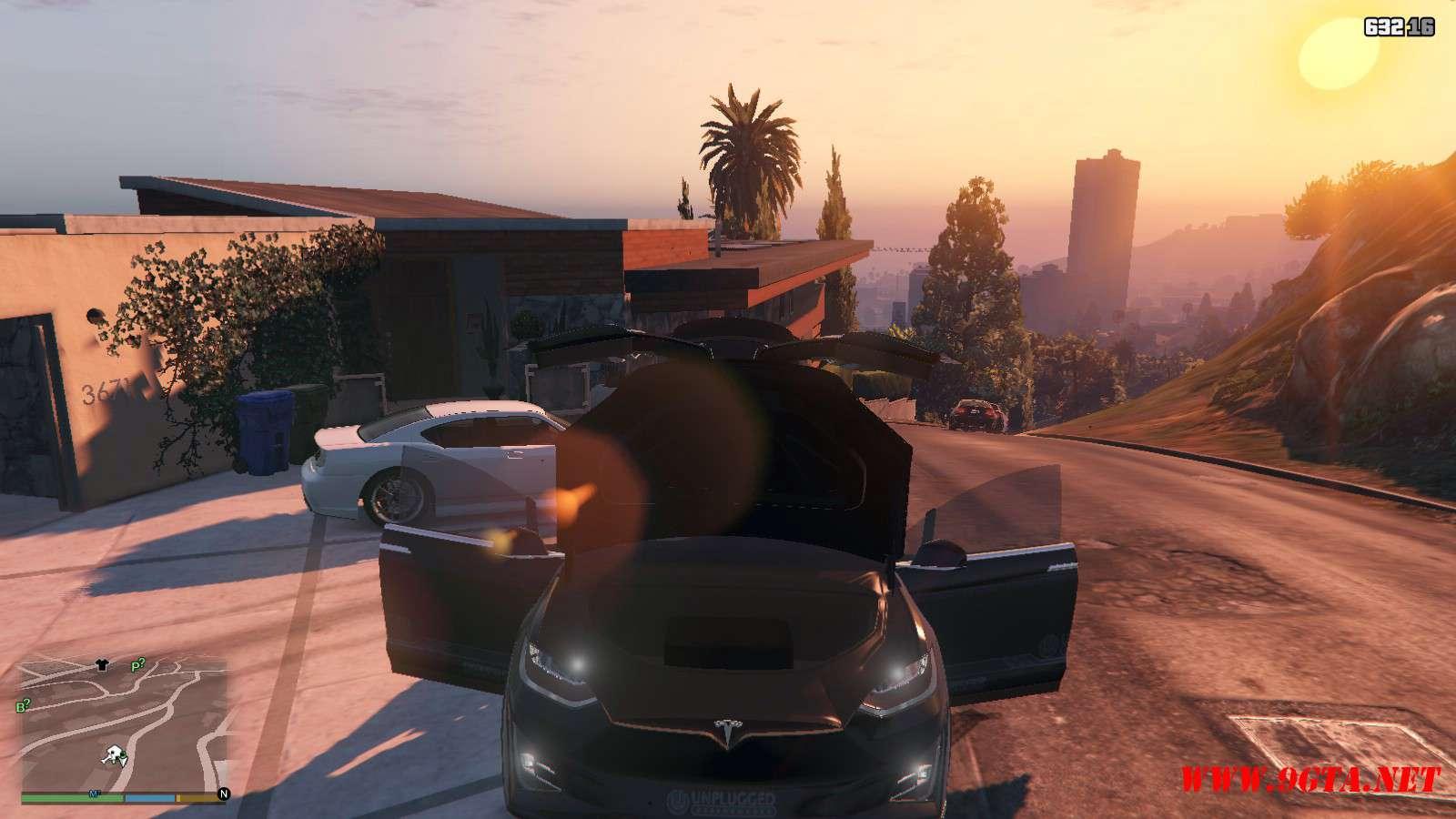 Tesla Model X Unplugged Performance GTA5 Mods (14)