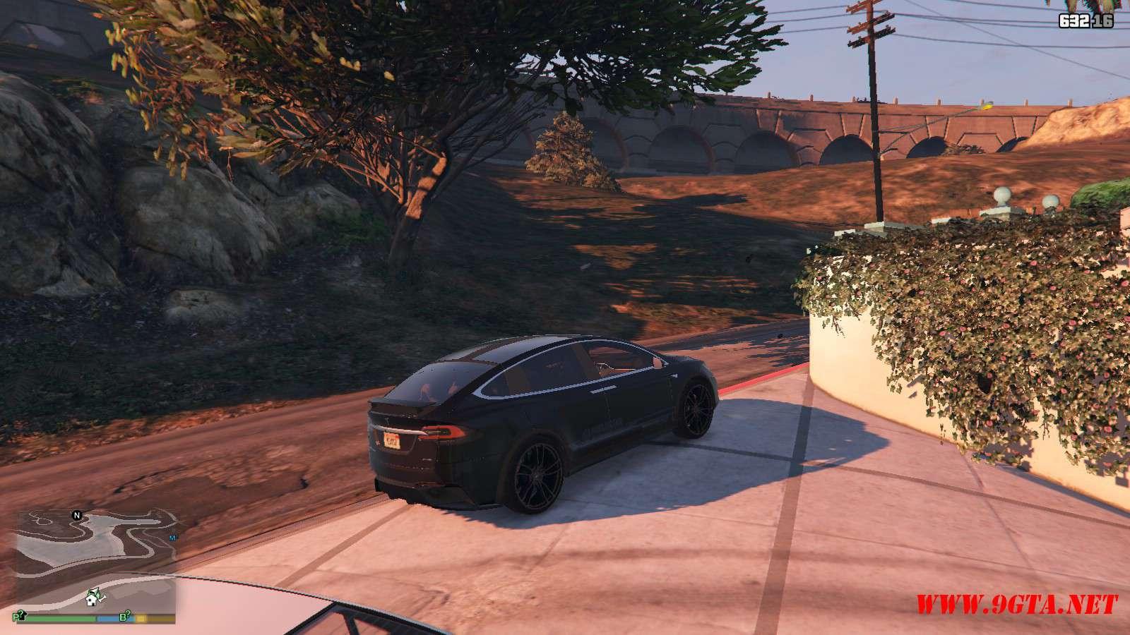 Tesla Model X Unplugged Performance GTA5 Mods (18)