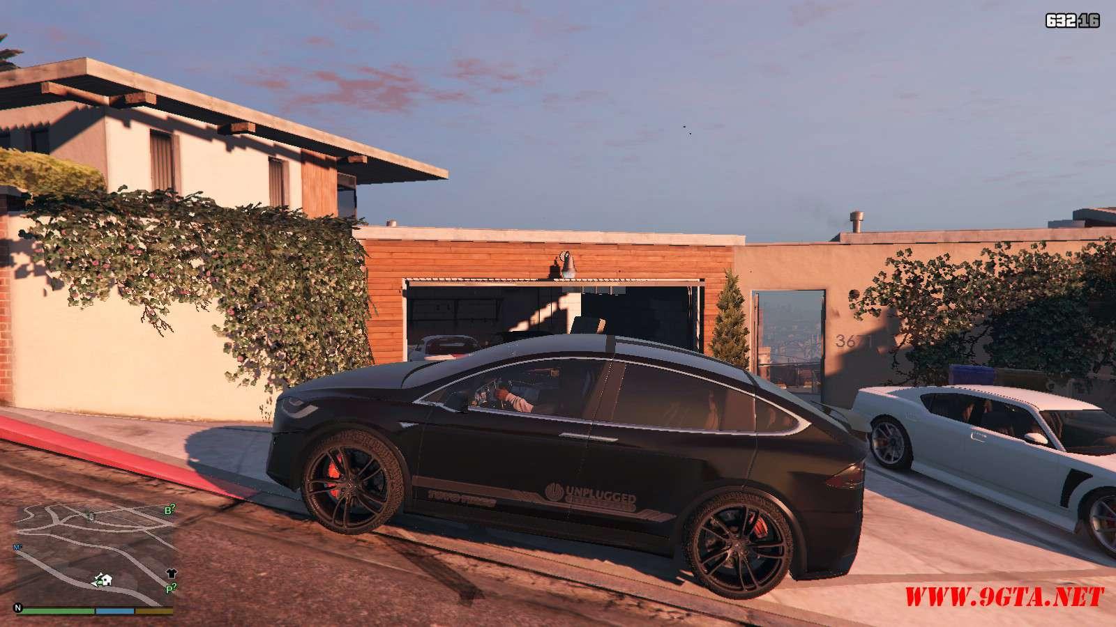 Tesla Model X Unplugged Performance GTA5 Mods (2)