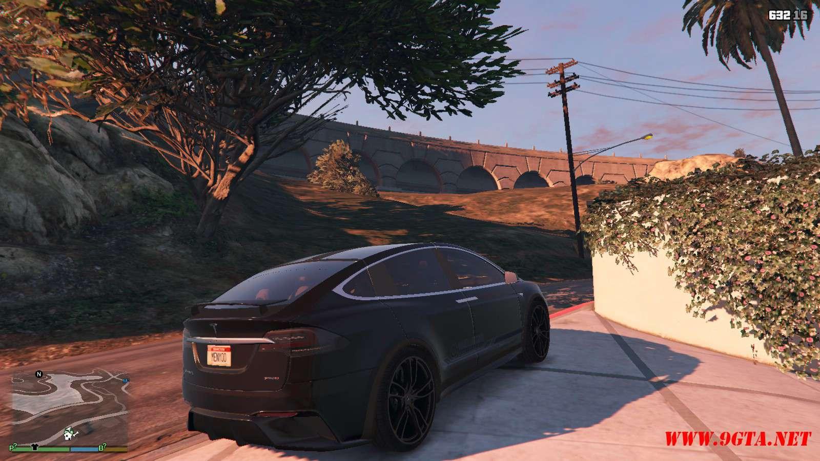 Tesla Model X Unplugged Performance GTA5 Mods (4)