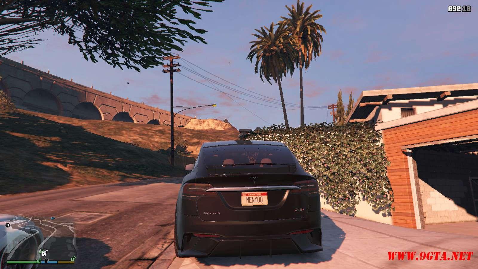 Tesla Model X Unplugged Performance GTA5 Mods (5)