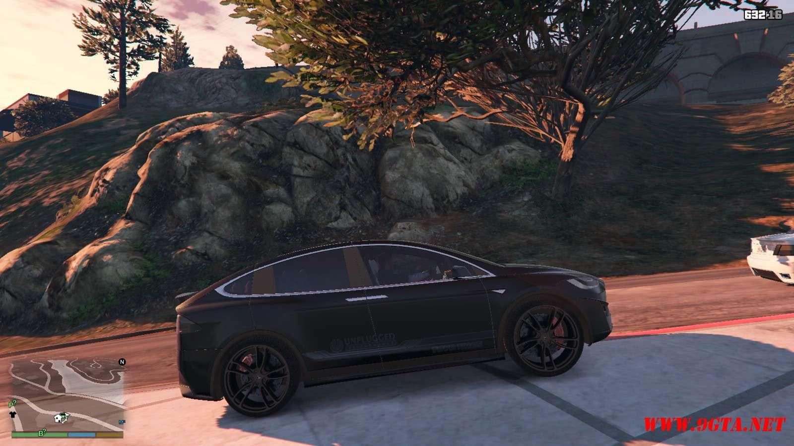 Tesla Model X Unplugged Performance GTA5 Mods (6)