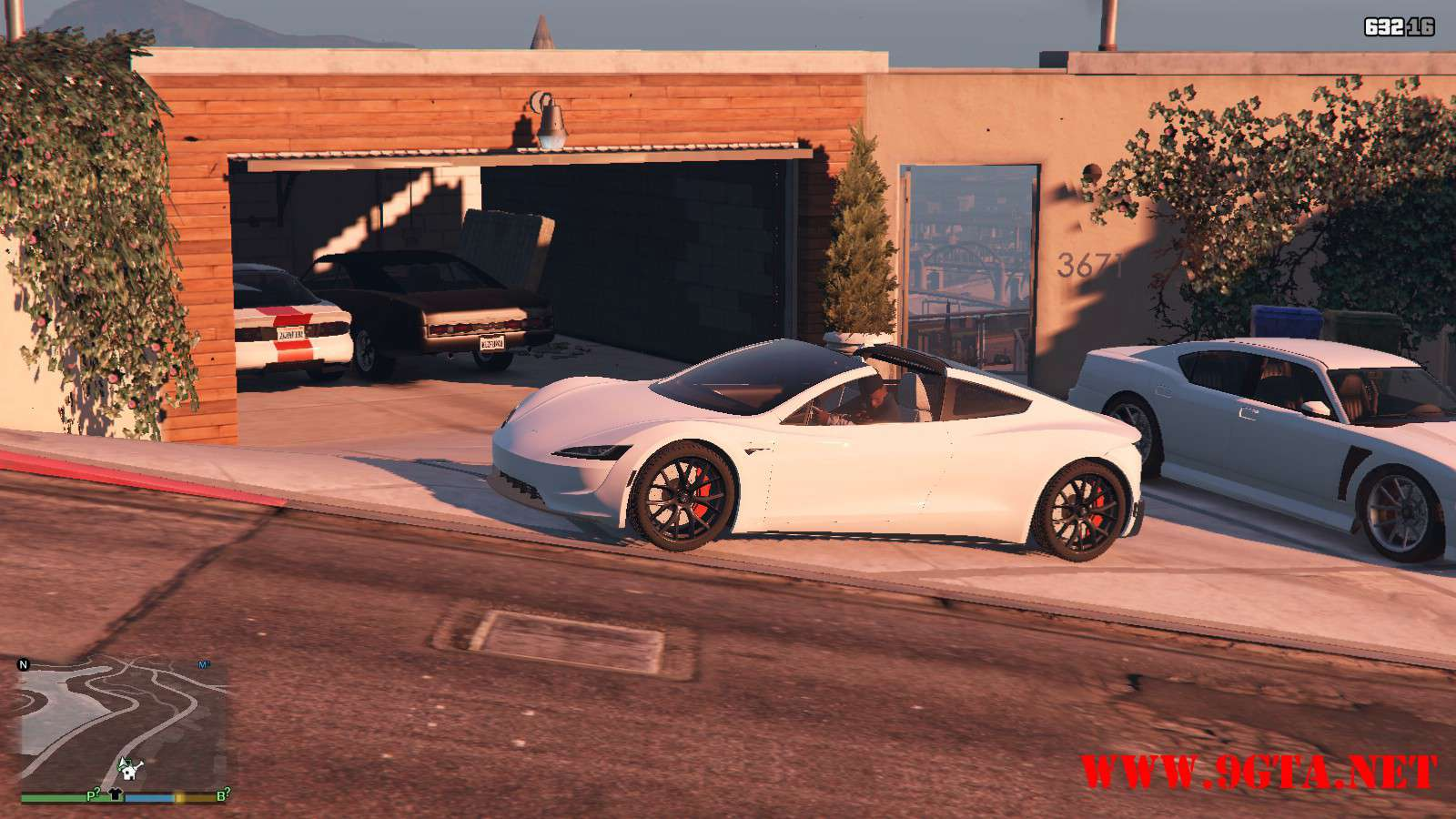 Tesla Roadster 2020 GTA5 Mods (10)