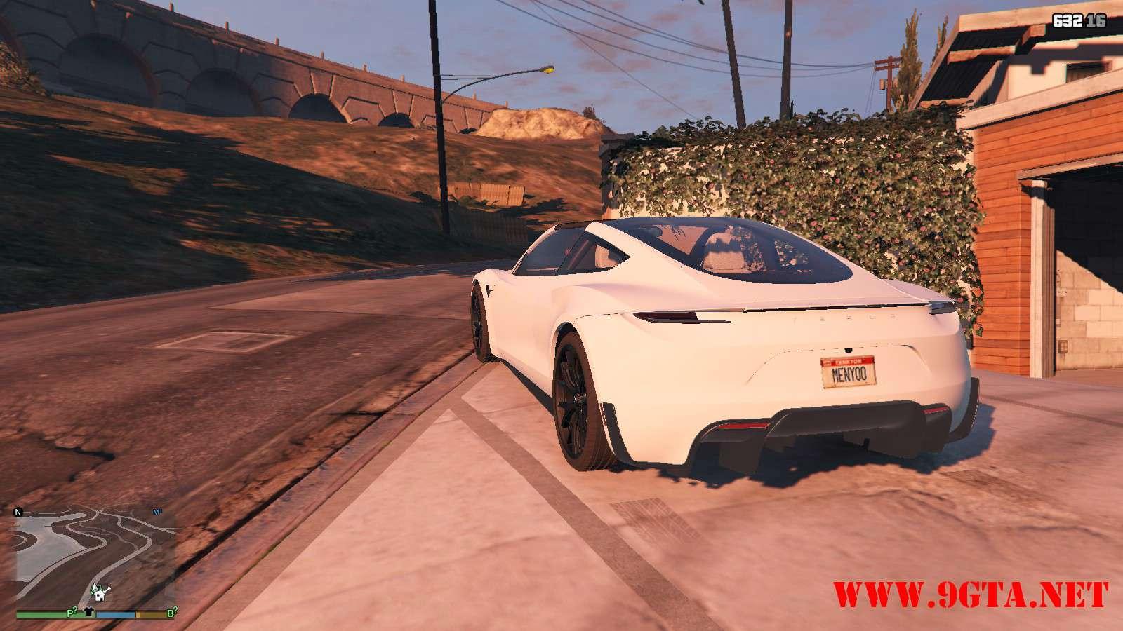 Tesla Roadster 2020 GTA5 Mods (11)