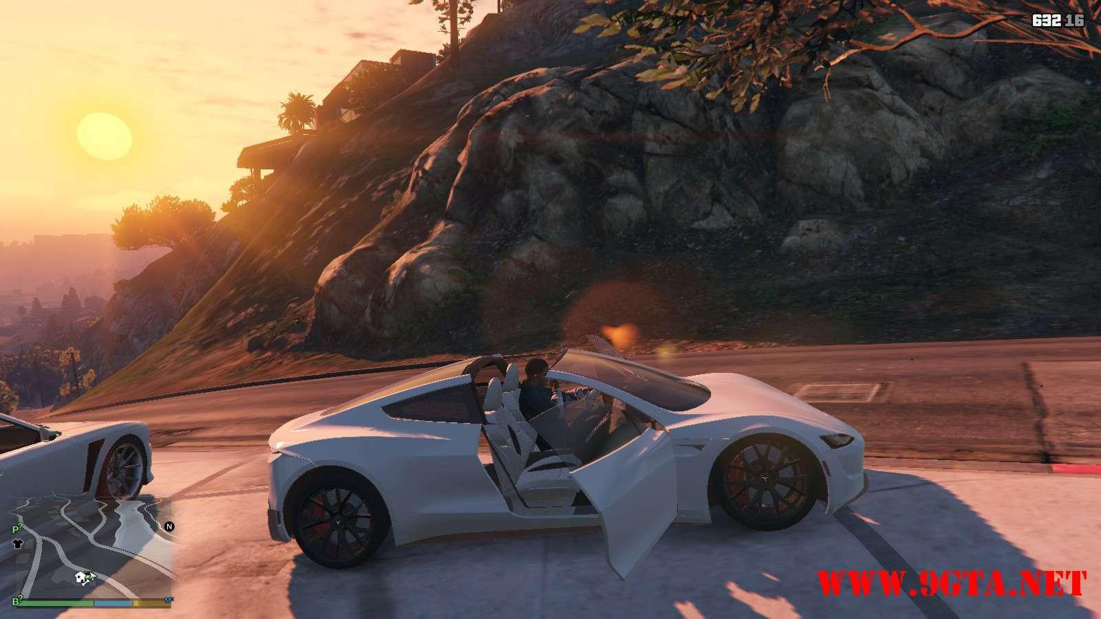 Tesla Roadster 2020 GTA5 Mods (13)