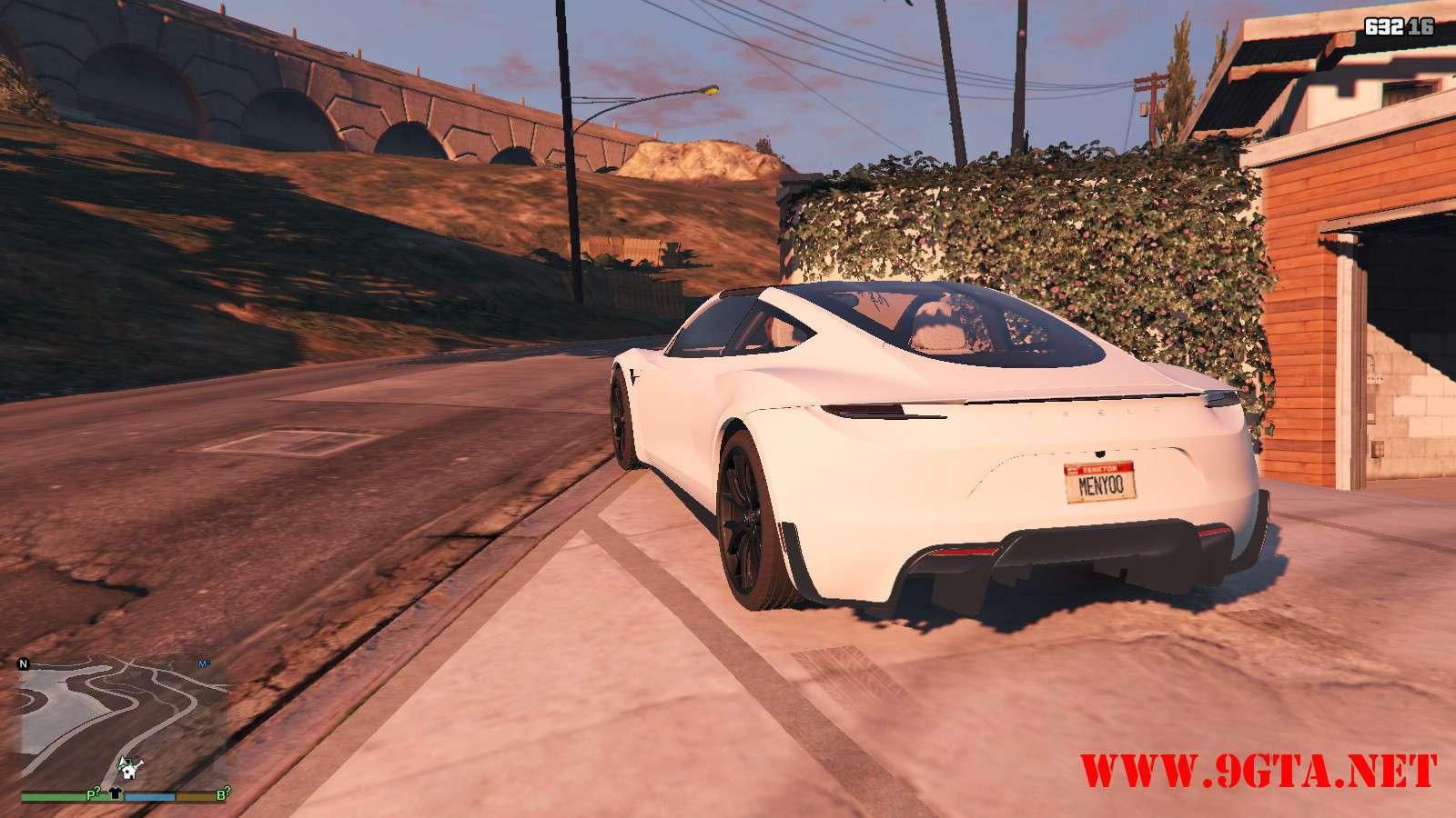 Tesla Roadster 2020 GTA5 Mods (6)