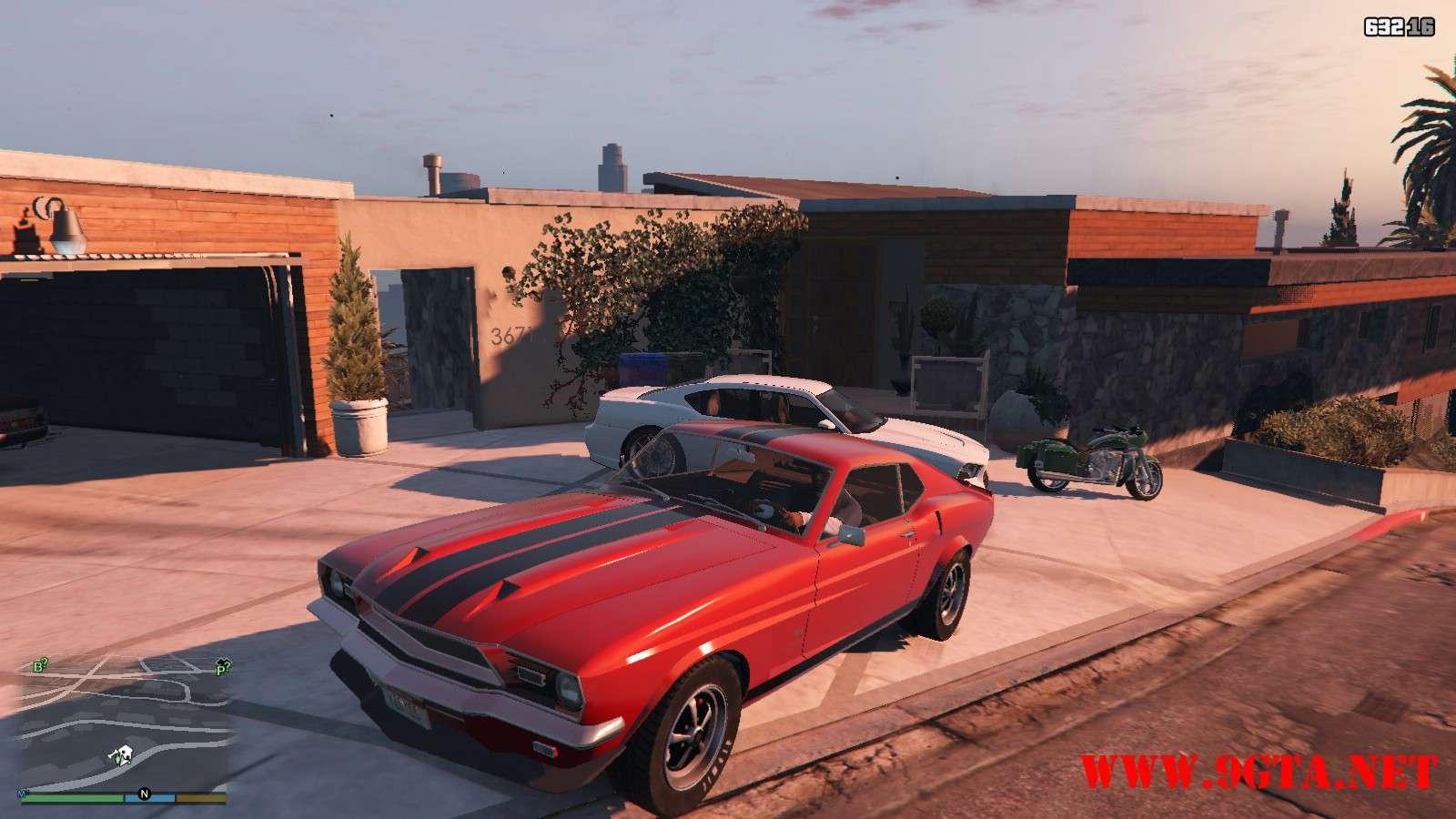 Vapid Dominator Classic GTA5 Mods (1)