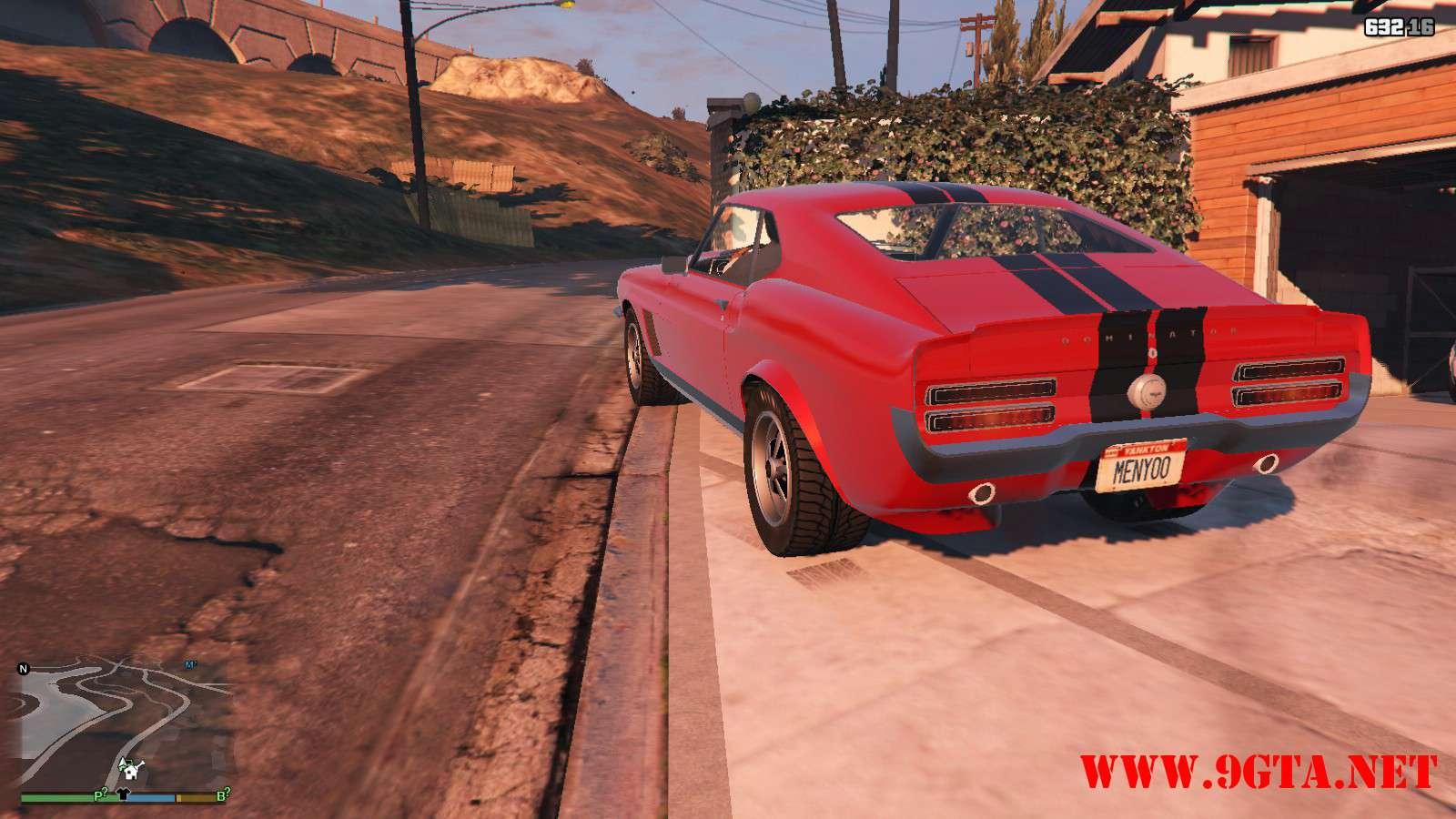 Vapid Dominator Classic GTA5 Mods (13)