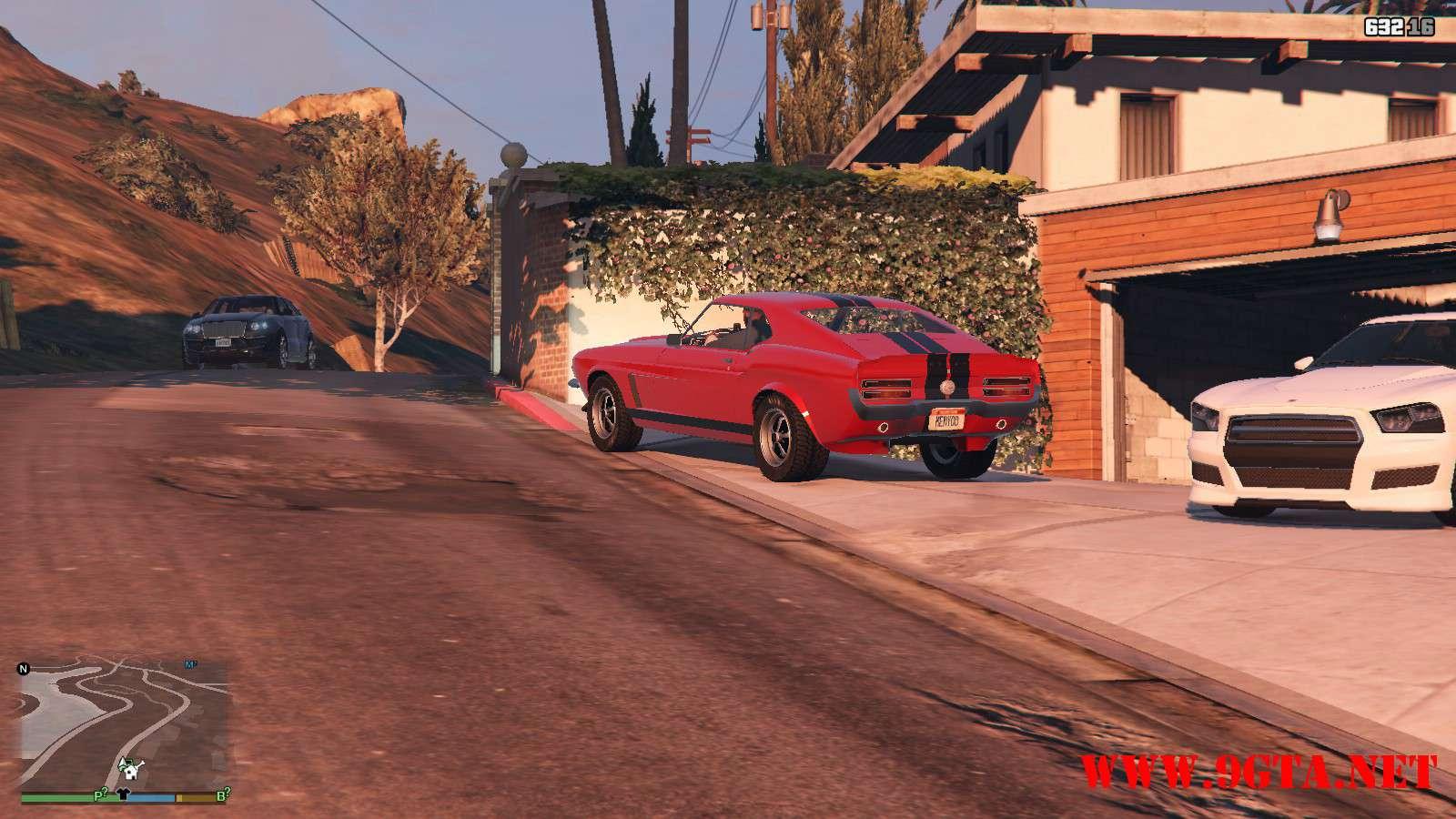 Vapid Dominator Classic GTA5 Mods (14)