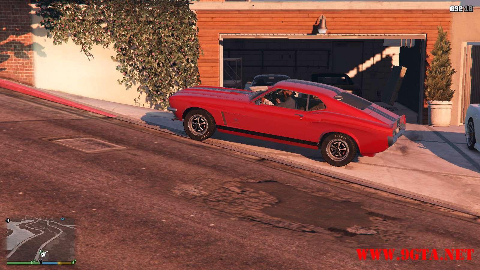 Vapid Dominator Classic GTA5 Mods (15)