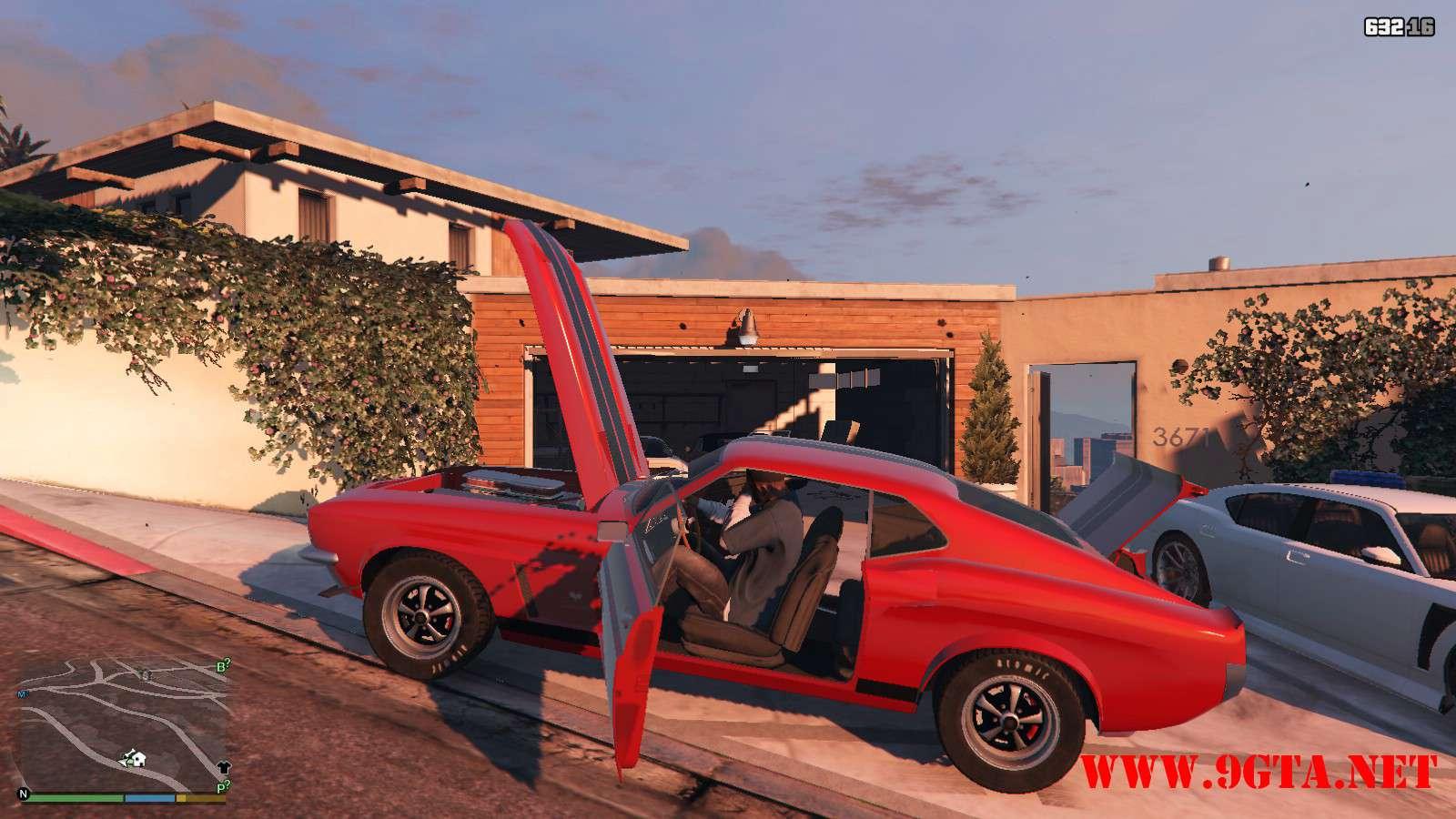 Vapid Dominator Classic GTA5 Mods (19)