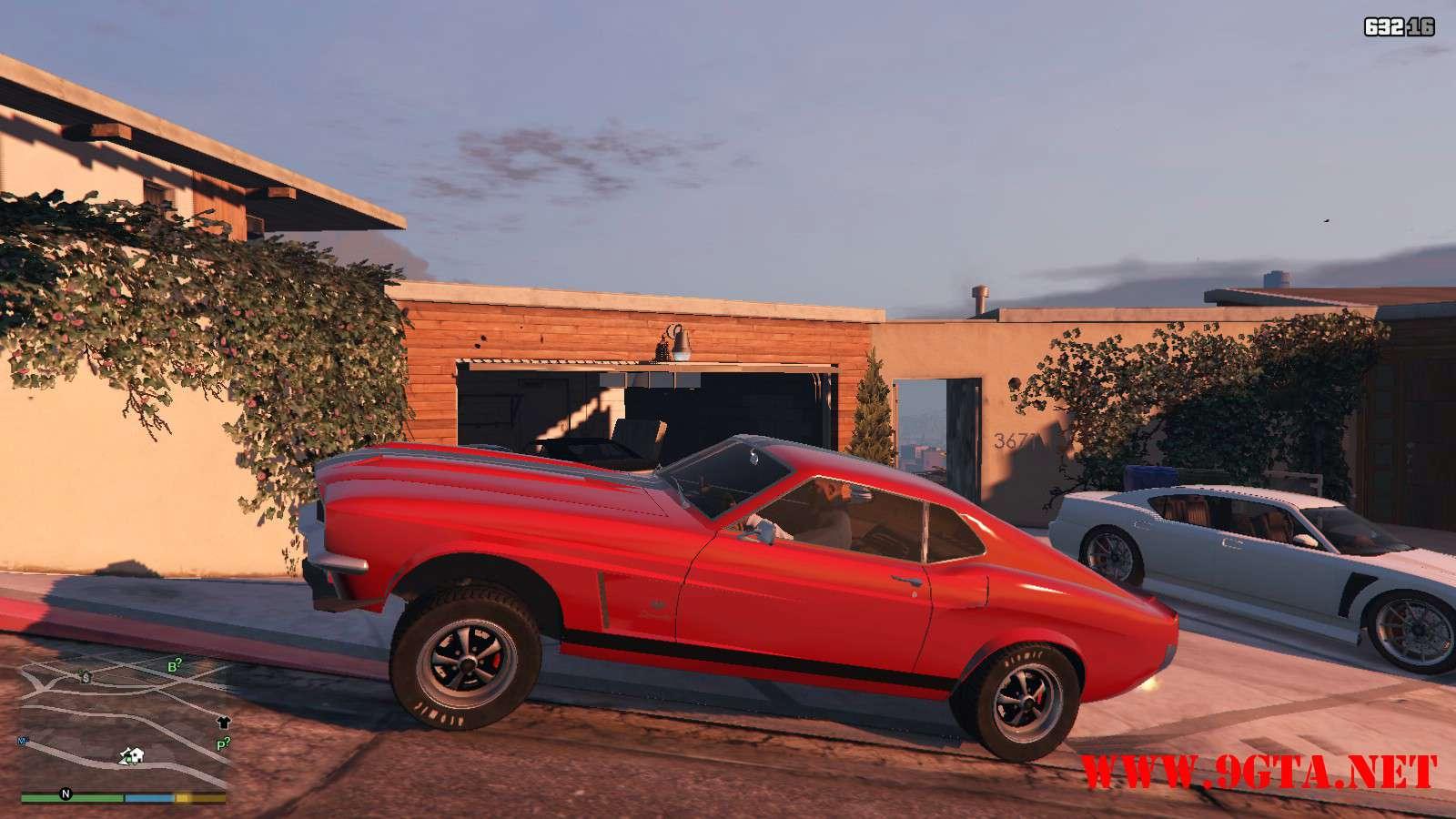 Vapid Dominator Classic GTA5 Mods (22)