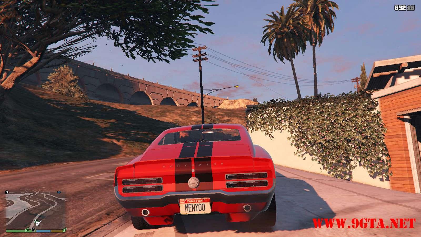 Vapid Dominator Classic GTA5 Mods (3)