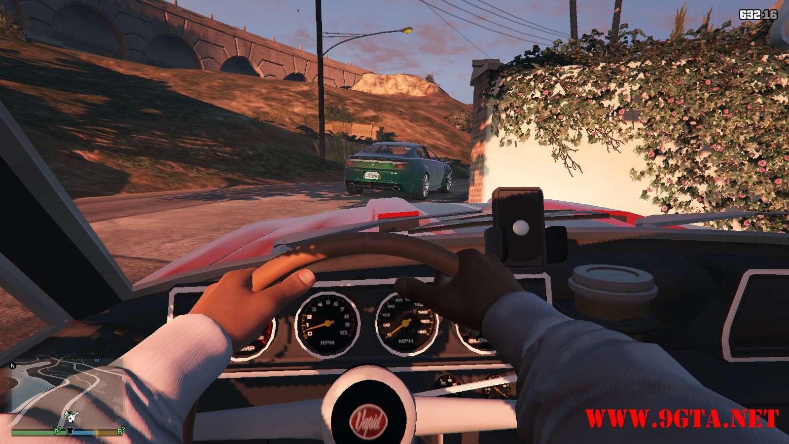 Vapid Dominator Classic GTA5 Mods (7)