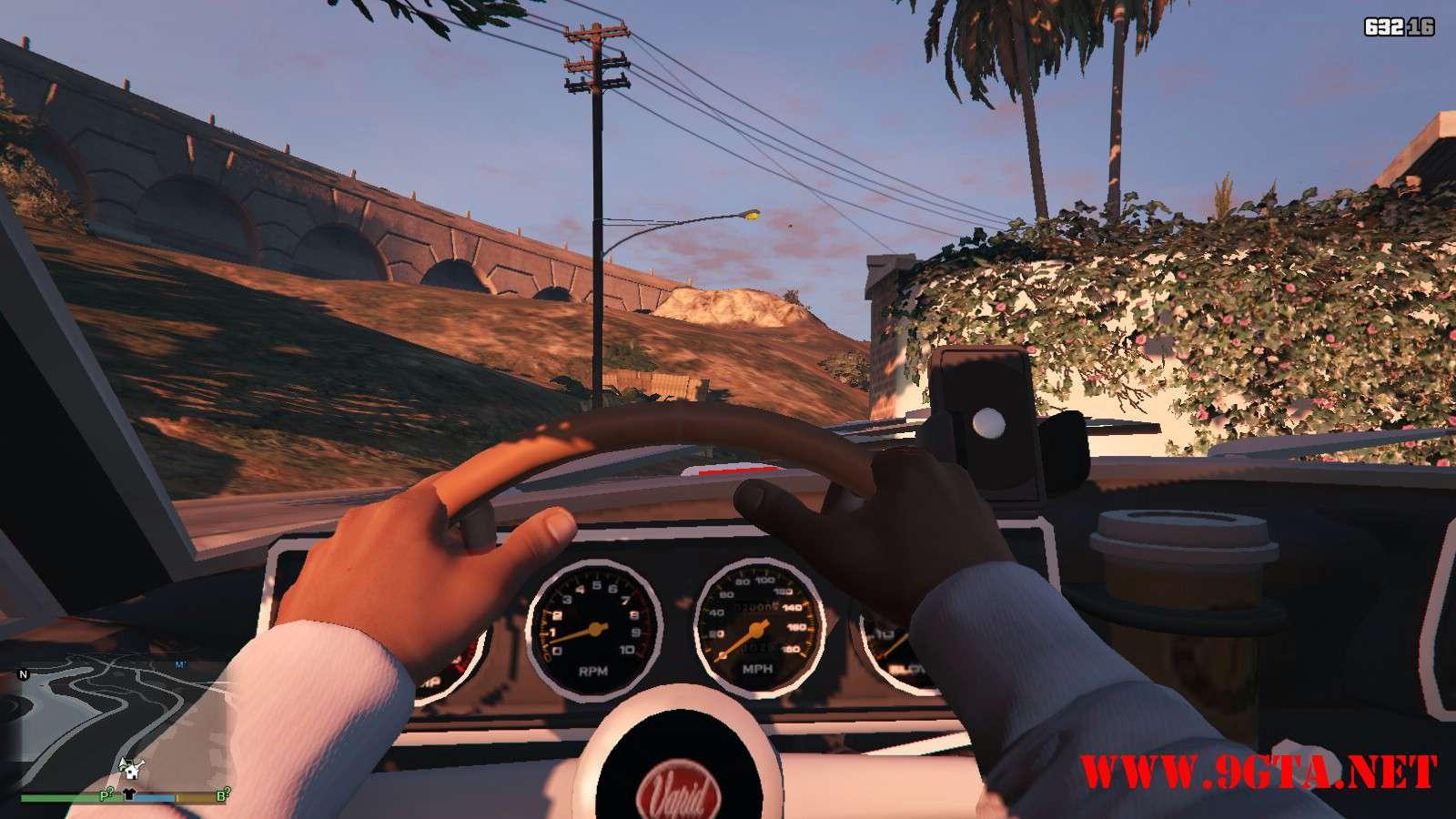 Vapid Dominator Classic GTA5 Mods (8)