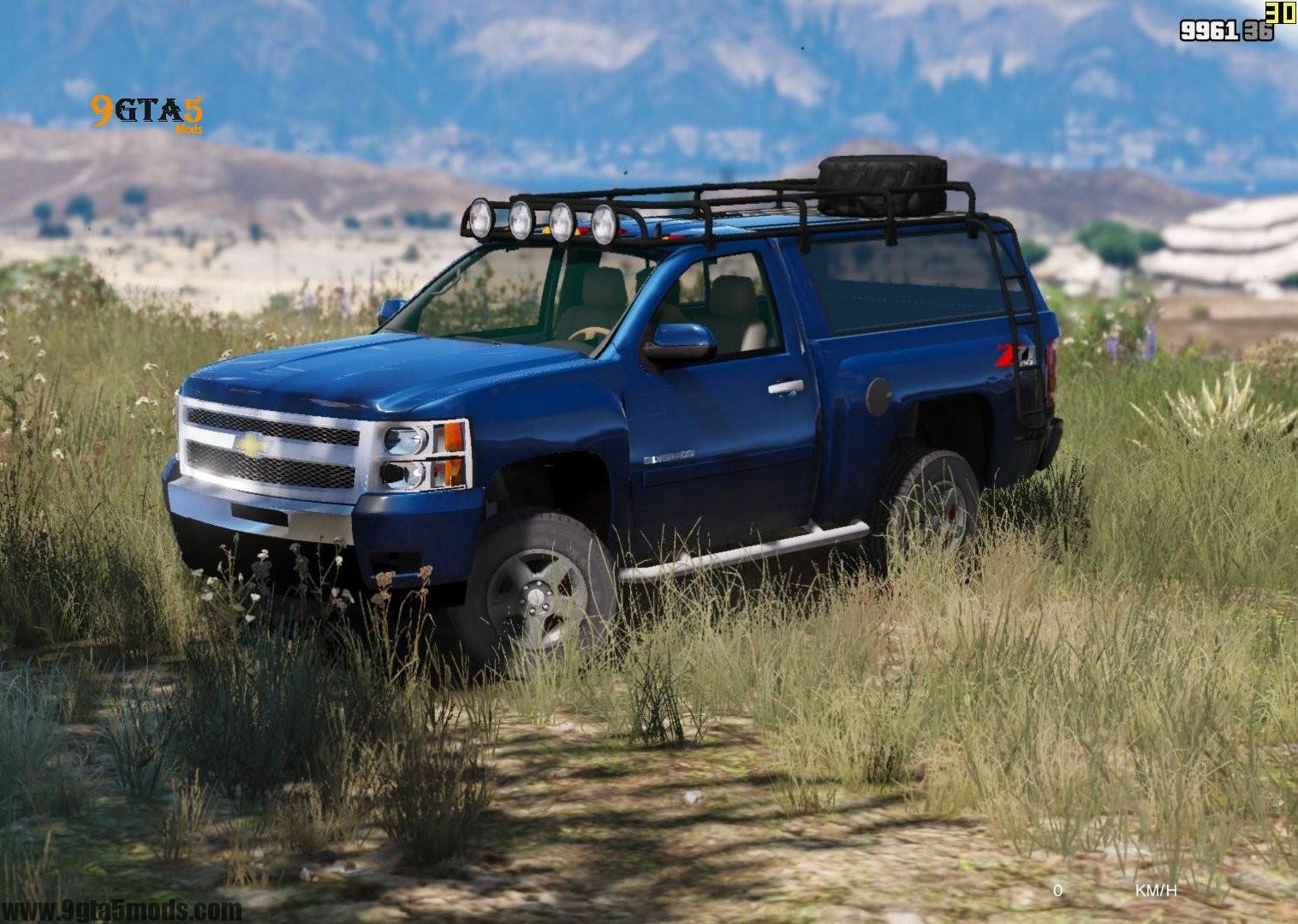 Used 2013 Chevrolet Silverado 1500 | GTA 5 Vehicles 2